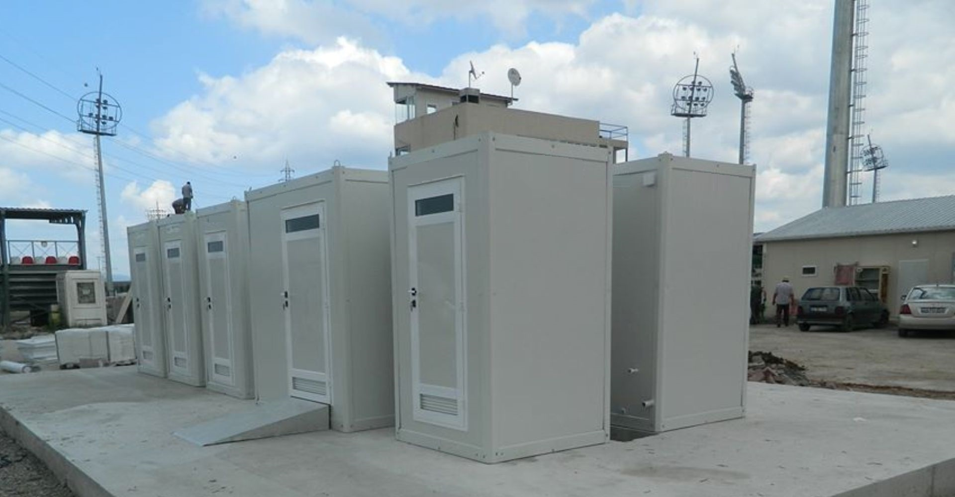 Portable Toilet Cabins